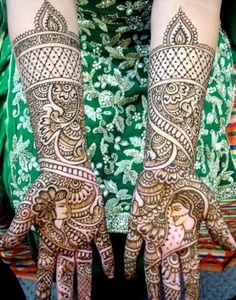Indian Dulhan Mehndi Design