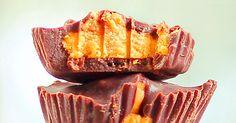 Vegan Pumpkin Peanut Butter Cups - https://veryveganrecipes.com/vegan-pumpkin-peanut-butter-cups/