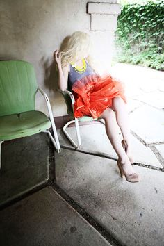 Casual tulle for a summer afternoon STYLE / 62 designlovefest
