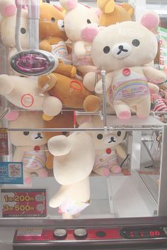 Rilakkuma UFO Catcher-- nothing tests your problem solving skills more than the ones in Japan.