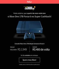 [Méliuz] Xbox One 1TB edição exclusiva Forza 6 - R$1549