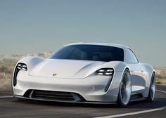 Porsche takes on Tesla with its Mission E concept car that can charge in 15 minutes.
