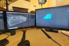 3D Designing for our clients Custom 3d Printing, Model Train Layouts, Model Trains, Scale Models, Building, Design, Buildings, Scale Model