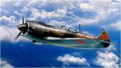 Aircraft Lavochkin La-7.