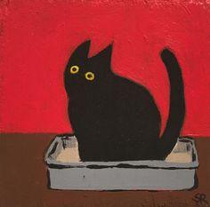 Sherry Rusinack – Pee, 2020 - Part of Everything Art Et Illustration, Illustrations, Art Du Collage, Art Mignon, Art Ancien, Arte Obscura, Wow Art, True Art, Art Design