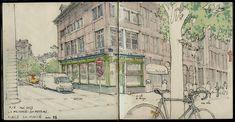 Fabien Denoel   #Liege #Sketchbook