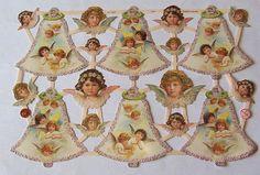 Newer German Victorian Christmas Angel Cherubs by TheWisdomTree, $1.50