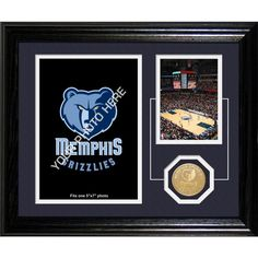 The Highland Mint Memphis Grizzlies Desktop Photo Mint, Team