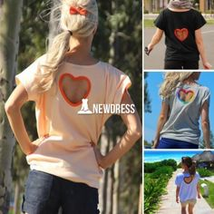 Fashion Women Casual Loose O-Neck Short Sleeve Solid Back Heart Hollow Out T-Shirt Tops