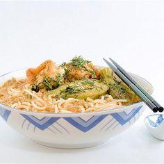 Суп с рисовой лапшой и жареным тофу рецепт – японская кухня, вегетарианская еда: супы. «Афиша-Еда»