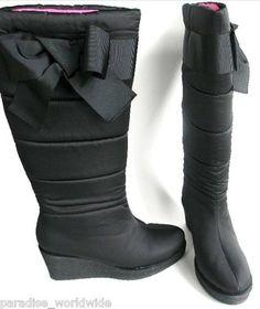 Kate Spade waterproof snow boots.