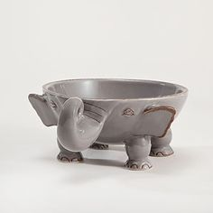 Elephant Individual Bowl $7.99 from World Market.  World Market is the only reason I ever cross the Hampton Roads Bridge Tunnel!