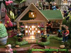 Dept 56 Lily's Flowers and Gifts in Easter Village