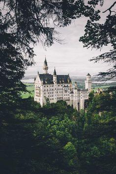 "banshy: "" Neuschwanstein Castle // Merlin Kafka """