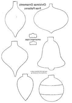 7 Best Images Of Printable Christmas Ornament Templates