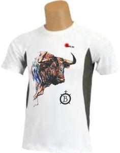 Camiseta - Cabeza de toro pintada
