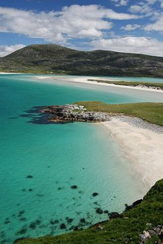 Achmelvich Beach, Highlands: Leave your passport at home. This might look like a… Achmelvich Beach, Highlands: Leave your passport at home. This might look like a Mediterranean sun-trap, but it's actually Achmelvich Beach in the Highlands of Scotland. The Places Youll Go, Places To See, Isle Of Harris, Outer Hebrides, Scotland Travel, Scotland Beach, Best Beaches In Scotland, North Scotland, Ponds