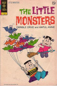 The Little Monsters, No 17, June 1972, via Flickr.