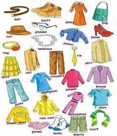 1000+ images about English on Pinterest | English Vocabulary, Kids ...