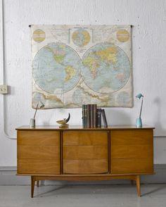 United Furniture Company Chest Dresser Mid Century Modern