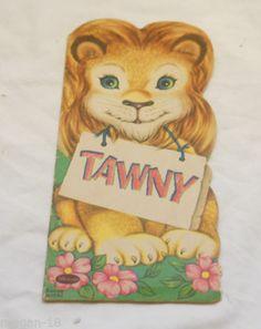 VINTAGE TAWNY WHITMAN BOOK