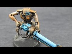 How to Paint a Rust Necron Warrior - YouTube