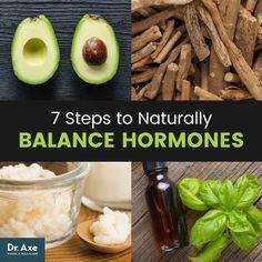 Balance hormones naturally - Dr. Axe