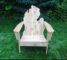 Michigan adirondack - for my new UP cabin.  Lost the old one to the wild fires last year. :-(