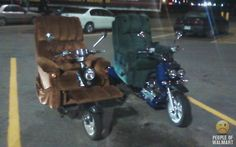 Motor Psycho: The Top Ten Motorcycles Of The People Of Walmart  ... see more at InventorSpot.com