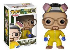 Funko POP! Television Breaking Bad WALTER WHITE Haz Mat Suit (Cooking Suit) #160 Vinyl Figure #funko #pop #funkopop #breakingbad #walterwhite #vinyl #toy #cooking #suit