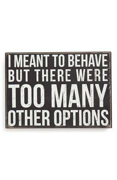 sooooo many other options