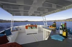 59' Deluxe Houseboat Details - Lake Powell | Houseboat Reservations