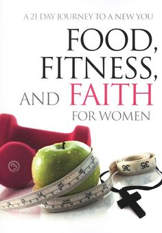 A healthy lifestyle first starts with a healthy heart and mind! Food, Fitness and Faith for Women shares 21 Biblically-based principles that can help you achieve physical, spiritual and emotional health. Each day you'll find the encouragement to persevere and be challenged to move ahead. Take a step toward whole and healthy living today!