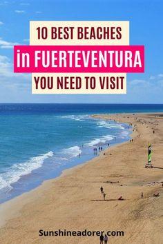 10 Amazing Beaches in Fuerteventura to Visit - Sunshine Adorer
