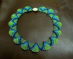 Schöne Halskette sheyu.Podrobnaya Schema! | Biser.info - Alles über Perlen und Perlenarbeiten