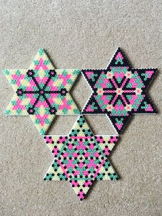 Hama beads Star set