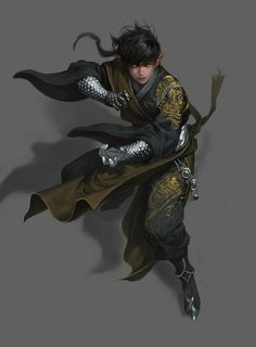 Leosen, an elven Monk from the city of Berdusk, found in the raider camp as a prisoner, he too was spying on and working to thwart the Cultist prior to his capture