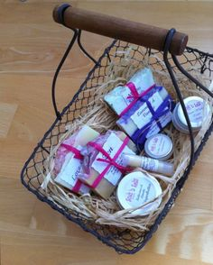A pamper basket using '31 fields' amazing products