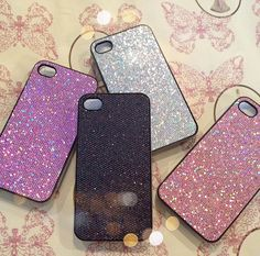 glitter phone cases - from amazon