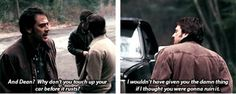 [SET OF GIFS] 1x20 Dead Man's Blood. This is exactly why I hate John winchester