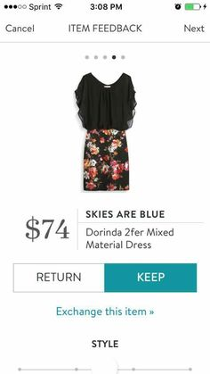 This is a beautiful dress! I would absolutely LOVE to have it in a fix. Perfect for work!