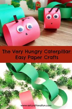 Easy to make Hungry Caterpillar - Art Craft and Fun