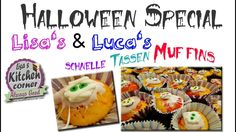 Lisa's & Luca's | schnelle Halloween Tassen Muffins Muffins, Halloween, Lisa, Breakfast, Food, Cute Baking, Few Ingredients, Food Food, Morning Coffee