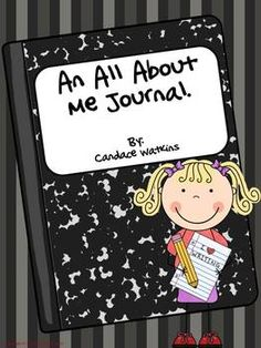 This all about me journal is a great addition to your back to school community building activities! 11 journal prompts. 6 cover choice. Intermediate and Primary lines included. Suggestion for use including a fun wrap up activity. $