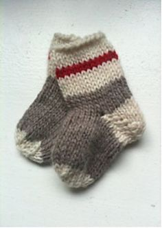 Ravelry: Get to Work! Baby Socks free pattern by Laura Sapergia