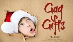 Gag Gifts for White Elephant Parties ~ She Picks! 2017 Gift Guide - Gag Gifts for White Elephant Parties ~ She Picks! Great Gifts For Women, Gifts For Boys, Gifts For Family, Christmas Gifts For Him, Christmas Stocking Stuffers, Best White Elephant Gifts, Cool Gifts, Gift Guide, Stockings