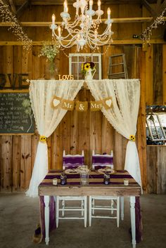 Sweet Heart Table at Wishing Well Barn http://celebrationsoftampabay.com/tampa/rustic-wedding-at-wishing-well-barn/