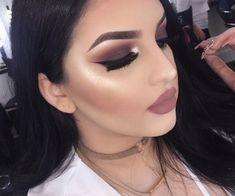 makeup, beauty, and hair image Makeup On Fleek, Kiss Makeup, Flawless Makeup, Glam Makeup, Gorgeous Makeup, Pretty Makeup, Love Makeup, Beauty Makeup, Hair Makeup