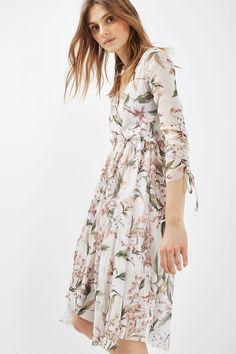 Mesh Midi Dress - Topshop
