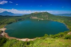 Lake Pinatubo is not the only such lake in the Philippines. This is the Crater Lake at the Mouth of Taal Volcano in Luzon. Photo by Deck Chua World's Most Beautiful, Beautiful Places, Amazing Places, Taal Volcano, Exotic Beaches, Tropical Beaches, Crater Lake, Seen, Lakes